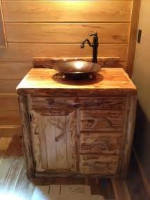 corner bench bathroom rustic