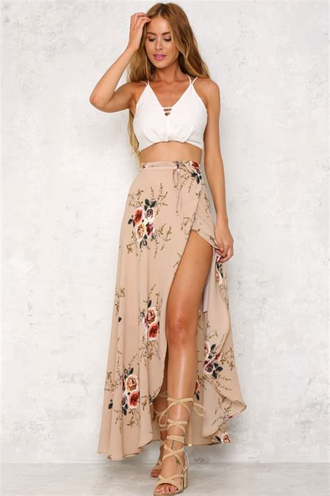 9 Gorgeous Maxi Skirts by The Cottage Maxi Skirt Is And Flowy With A