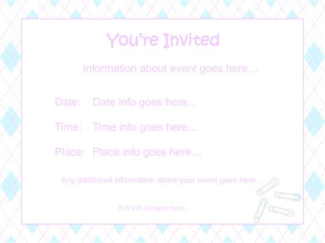 Baby Shower Invite Sles Mughals Invites Templates