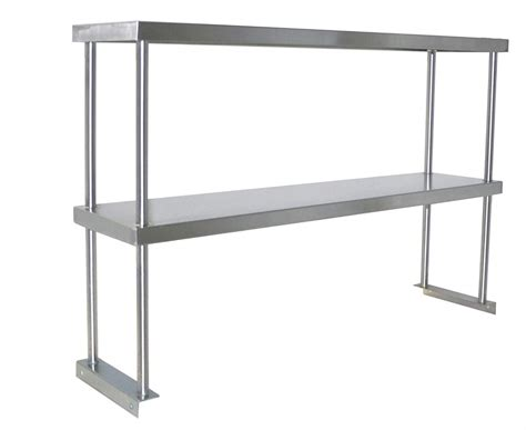 Commercial Kitchen Shelving by Commercial Kitchen Shelves 12 Wall Rack With Hooks