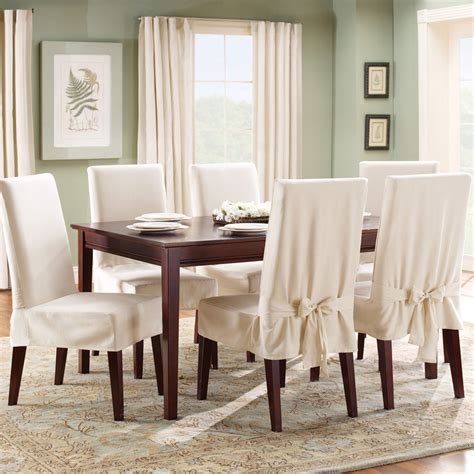 White Dining Chair Covers Dining Chair Covers Home Design By