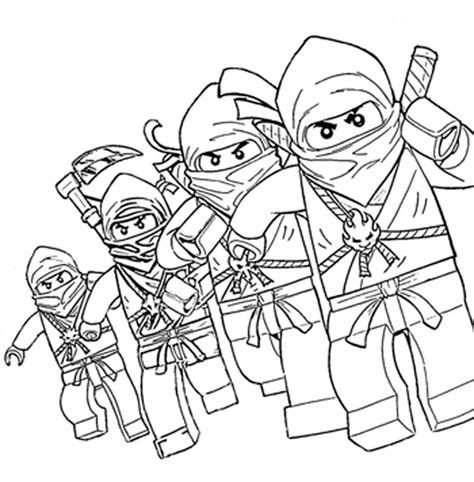 free printable lego ninjago coloring pages coloring home