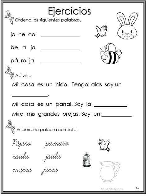 libro primeros ejercicios de escritura 50 ejercicios de lecto escritura para preescolar y primaria 024 imagenes educativas