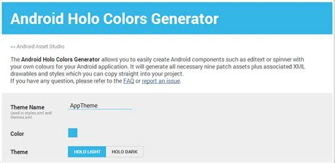 layout android generator kick out java fundamental android holo colors generator