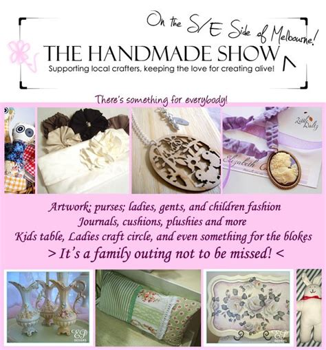 The Handmade Expo - the handmade show may 8th ep designs