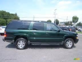 dark green metallic 2003 chevrolet suburban 1500 z71 4x4