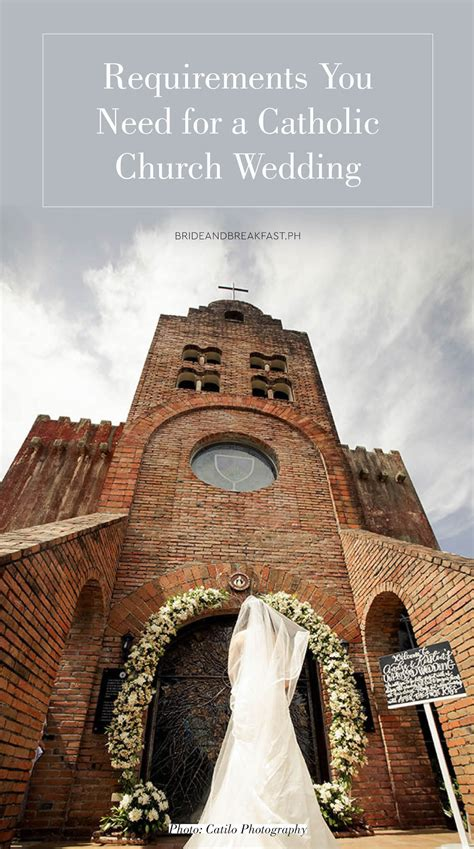 Wedding Checklist Catholic by Catholic Wedding Requirements Philippines Wedding