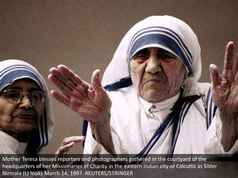 biography of mother teresa ppt ppt mother teresa to be made saint powerpoint
