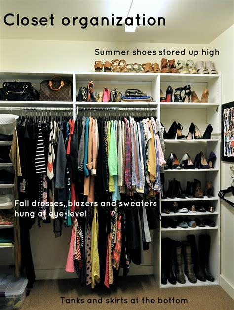 fall closet organization  tips  staying organized