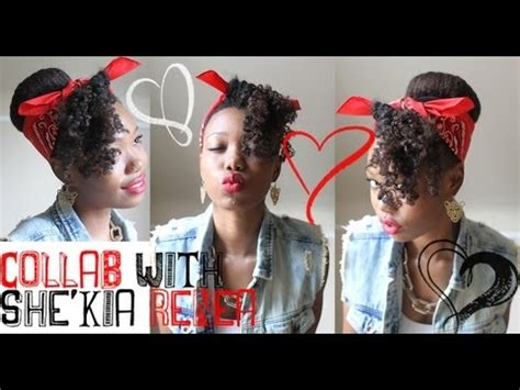 cute black pin up hairstyles rockabilly pin up hairstyle collab with she kia renea
