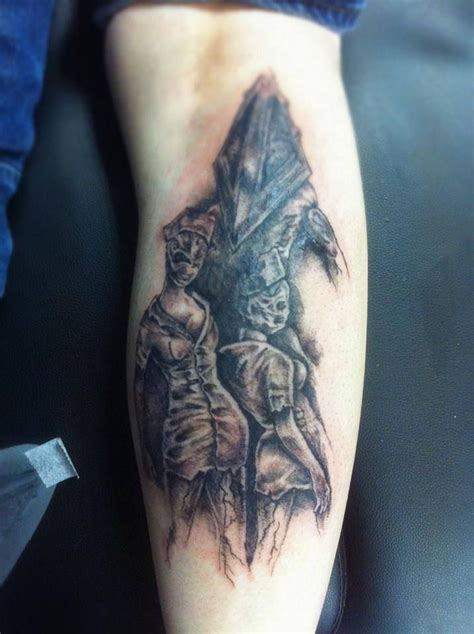 silent hill tattoos i ve done