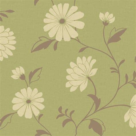 wallpaper green and cream buy arthouse chelsea wallpaper green cream brown