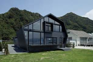 home design neighbors wood and glass house with ocean and mountains for