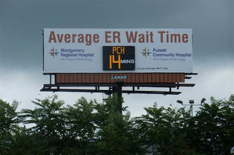 emergency room waiting times the ring of emergency room wait times
