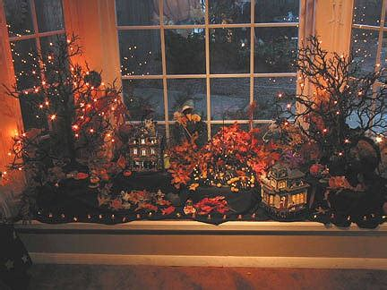 christmas window ideas for bay window 1000 images about ideas on front windows villages and