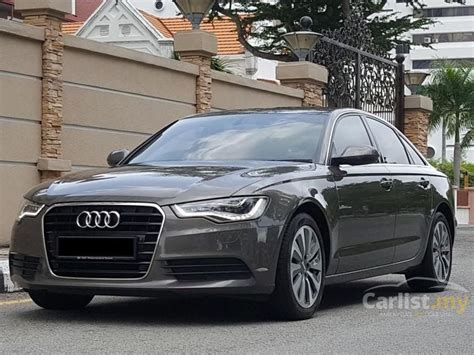 audi a6 2013 tfsi 2 0 in penang automatic sedan brown for