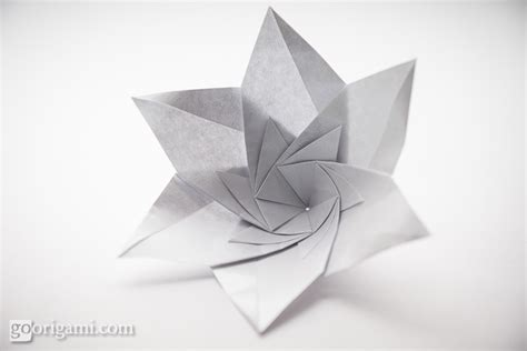 Modular Flower Origami - origami flowers and plants gallery go origami