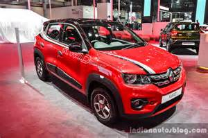 Renault Price Live Renault Kwid With Accessories Auto Expo 2016 Live