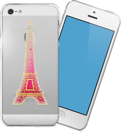 Iphone 5 5s Tpu Slim 0 3mm oem ultra slim 0 3mm tpu eiffel glitter apple