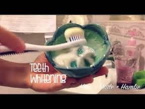how to whiten your teeth at home with baking soda youtube