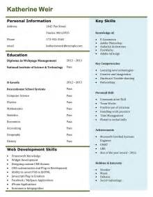 how to prepare a curriculum vitae templates free download