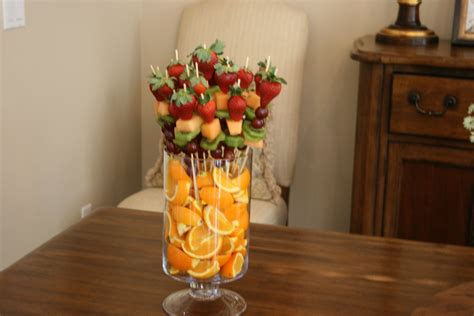 Fruit Centerpieces For Baby Shower by How To Make A Fruit Tray For Baby Shower This Creative