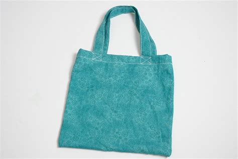 Simply Bag how to sew a simple fabric bag for beginners 15 steps