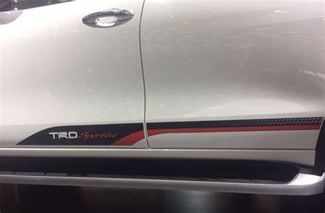 Toyota Car Decal Sticker Toyota Bagian Bak Belakang Ukuran Besar 120cm dapat sentuhan racing ini ubahan toyota fortuner trd