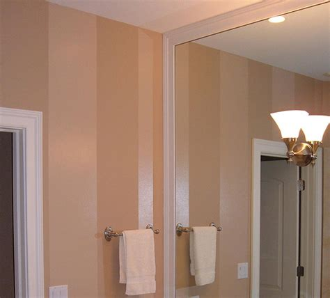 high gloss bathroom paint tan high gloss paint stripe in bathroom flickr photo