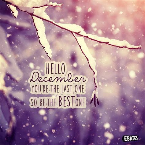 The Last One hello december you re the last one so be the best one