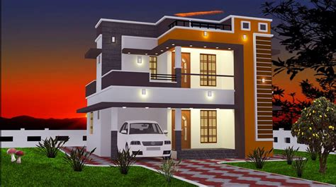 1850 square 4 bhk contemporary budget home design 2 bhk modern floor budget home design at 965 sq ft interior home plan