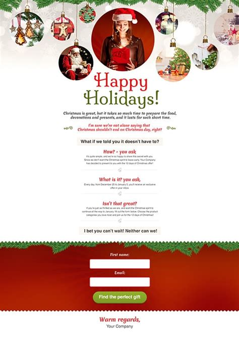 opt in page templates by getresponse