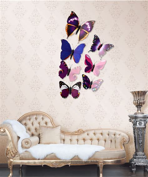 12pcs 3d butterfly wall decor stickers for living room