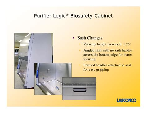 labconco biological safety cabinet labconco purifier logic class ii biosafety cabinets