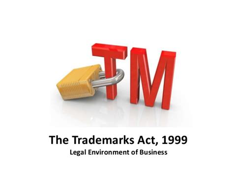 section 11 of trademark act trademarks act legal environment of business