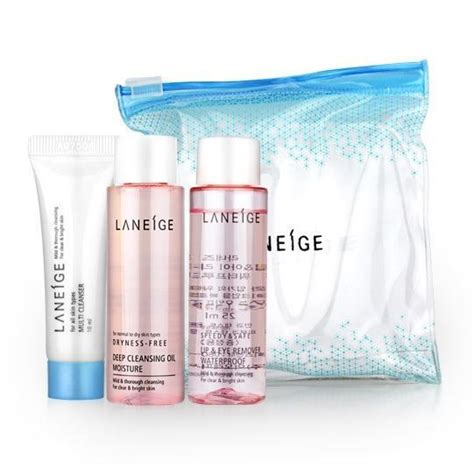 Laneige Trial Kit 3 Items laneige new cleansing trial kit 3 items suka