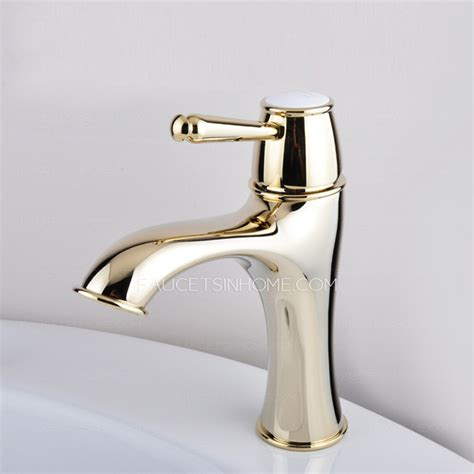 Antique Gold Faucets by Luxury Antique Gold Radian Designed Bathroom Sink Faucet