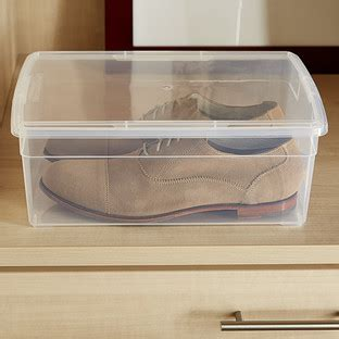 plastic containers for sneakers clear plastic containers with lids the container store