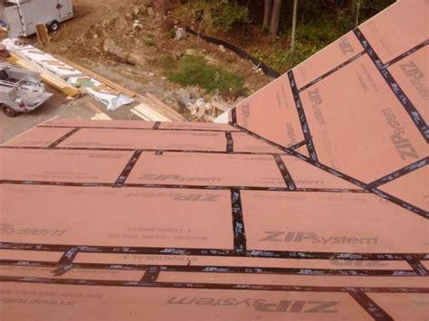 roof underlayment zip belt and suspenders or