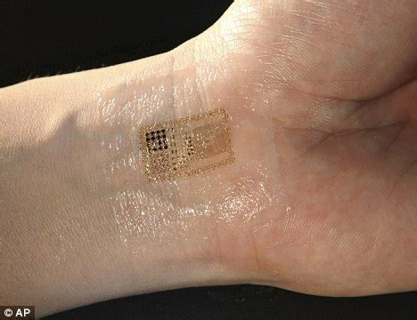 the quirky globe chip tattoo will monitor patients
