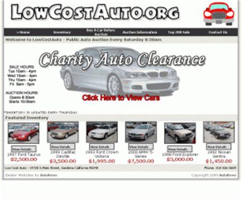 Gardena Ca Car Auction Lowcostauto Org Blok Charity Auto Clearance Gardena