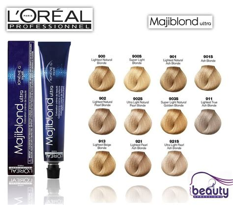 majirel haircolor treatment by l oreal professionnel shades guide l oreal professional majirel majiblond hair colour 50ml loreal hair dye colour ebay