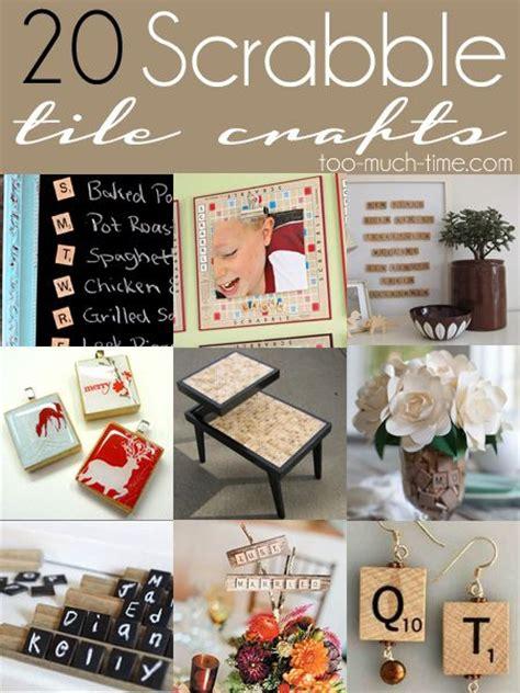 scrabble diy projects 25 best ideas about scrabble tile crafts on