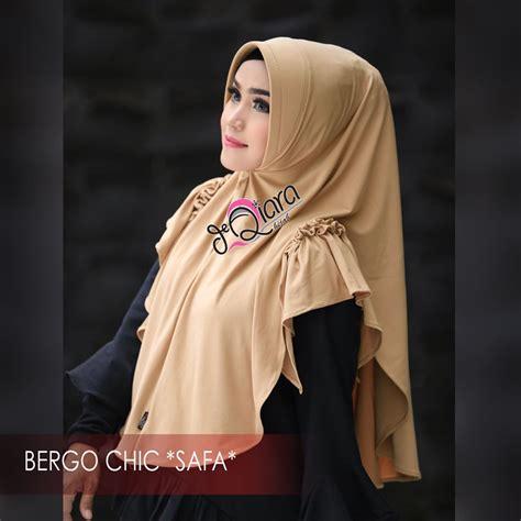 Chic Instan bergo chic safa fashion terbaru 2018 trend