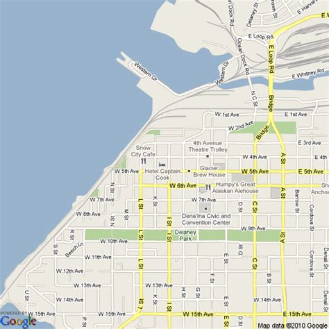 anchorage usa map map of anchorage united states hotels accommodation