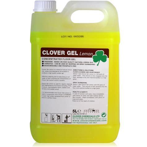 Clover Impact Gel Lemon Floor Gel 5Ltr [BREOOI.009]   £8