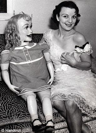 creepy photos of ventriloquists dummies show the scary side of the vintage shows daily mail