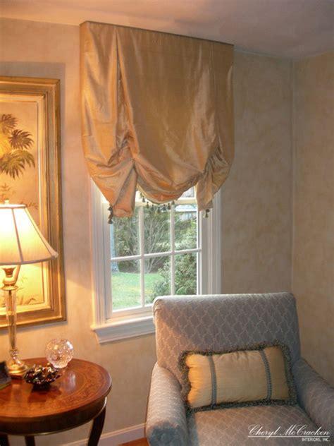 curtains with roman shades gold silk roman shades curtains boston by cheryl
