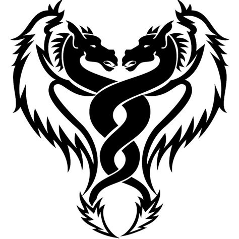 simple tattoo design download simple dragon designs clipart best