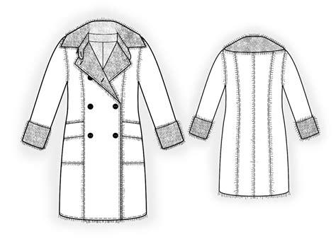 free sewing pattern lab coat sheepskin coat sewing pattern 5994 made to measure